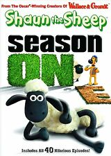 Shaun the Sheep: Season 1 One [DVD Set, First Print, Wallace Gromit, 2-Disc] NEW