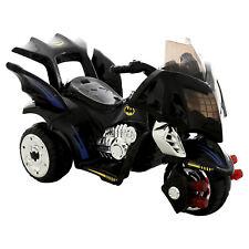 Childs Official DC Comics Batman Bat Bike Battery Powered Ride On Electric Trike