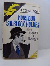 CONAN DOYLE -SHERLOCK HOLMES UNE ETUDE EN ROUGE  LE MASQUE(cn12)
