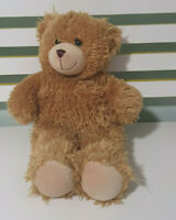 BUILD A BEAR TEDDY BEAR  BROWN FLUFFY 38CM! TOY BAB STRAIGHT MOUTH