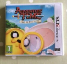 Adventure Time Finn & Jake investigaciones Nintendo 3DS Juego