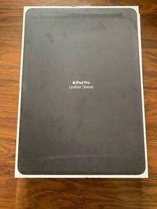 Genuine Apple Leather Sleeve for 12.9-inch iPad Pro Black