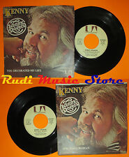 LP 45 7''KENNY ROGERS You decorated my life One man's woman 1979 italy cd mc dvd