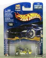 Hot Wheels 2002 Collector 198 Go Kart Yellow 5sp/5sp