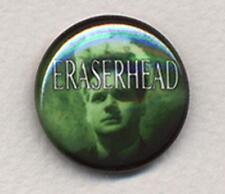 ERASERHEAD Badge Button Pin - CLASSIC !