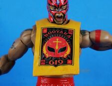 Mattel WWE Wrestling Figure Elite Accessories Rey Mysterio Rubber Shirt K1037_D