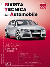 Manuale tecnico per la riparazione e la manutenzione dell'auto - Audi A4