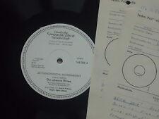 Carlo Terron -Die schwarze Witwe- LP Maria Wimmer - ,  Musterplatte mint