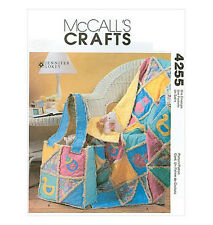Sew & Make McCall's 4255 SEWING PATTERN - Baby PATCHWORK RAG QUILT DIAPER BAG