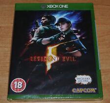 Brand new & Sealed Resident evil 5 Game for Microsoft XBOX ONE