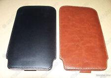 x1 Brown x1 Black Pouch / Slip Case for Hp 10c 11c Hp 12c 12Cp 15c & Hp 16c Usa