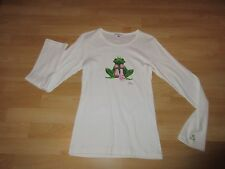 Balbina Shirt Gr.  S 34 Frosch Fredy Frog Weiß Baumwolle Swarovski Steine