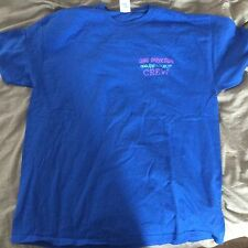ONE DIRECTION On The Road Again Tour 2015 RARE stagehand tshirt crew