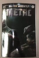 DARK NIGHTS METAL 3 FOIL VARIANT MATTINA TRADE DC BATMAN WHO LAUGHS IN HAND!!!