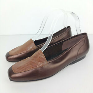 Enzo Angiolini Liberty Loafers Women 7.5 Brown