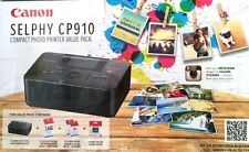 CANON Selphy CP910 Compact Photo Value Pack Bundle+KP36IP+2xKC18IS Paper+TRAYS