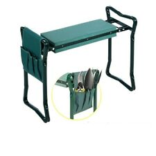 Knee Protector Garden Seat Kneeling Pads Foldable Stool Bench Foam Tools Pouch