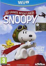 Snoopy's Grand Adventure - Nintendo Wii U NUOVO