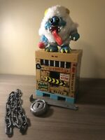 Crate Creatures Surprise Blizz Yeti Monster Chain Lock And Crowbar Great