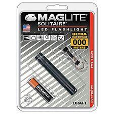 Maglite Solitaire LED Flashlight NA Black NEW