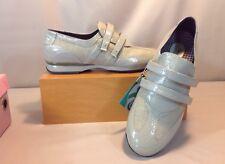 Aetrex Berries Anna Taupe Double Strap W/Moziac Custom Insole Women's SZ 8.5