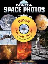 NASA SPACE PHOTOS ~ CD-ROM & BOOK ~ MAC & WINDOWS ~ ELECTRONIC CLIP ART ~ NEW