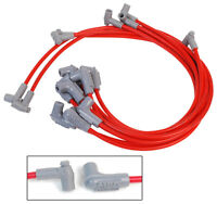 MSD Spark Plug Wires Spiral Core 8.5mm Red 90 Deg Sbc Chevy Small Block V8