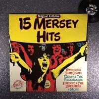 15 MERSEY HITS - ORIGINAL ARTISTES • SHM 983• A1B2 • LP Vinyl Record • EX-/EX-