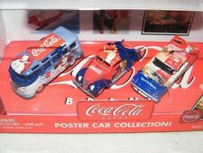 2003 Johnny Lightning 1:64 Coca Cola Set of 3 Poster Car Collection 595-02