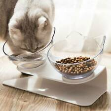 Anti Vomiting Pet Cat Bowl with Elevated Raised Food Water Feeding Single/Double