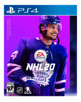 NHL 20 Playstation 4 PS4 PS5 Hockey EA Sports National Hockey League - New!