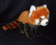 GANZ WEBKINZ SIGNATURE ENDANGERED RED PANDA STUFFED ANIMAL PLUSH TOY FOX BEAVER