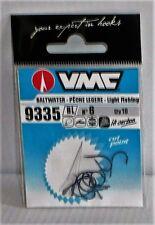 Hameçons VMC N°6 Ref: 9335 BL peche légère par 10