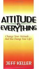 Attitude is Everything by Jeff Keller a paperback book FREE SHIPPING Change LIFE