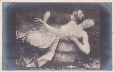 "* SALON DE PARIS 1902 - E.Buland ""Un Bain apres la Lessive"""