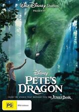 Pete's Dragon (DVD, 2017) Starring Robert Redford New Not Sealed Sealed Region 4
