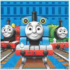 Thomas the Train Tank Engine Lunch Dinner Napkins 16pcs Party Supplies