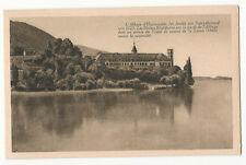 France - Aix-les-Bains, Lac du Bourget, Abbaye d'Hautecombe - 1920's postcard