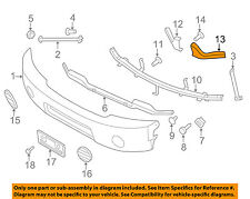 NISSAN OEM 620457S600 Front Bumper-Bumper Bracket 62045-7S600