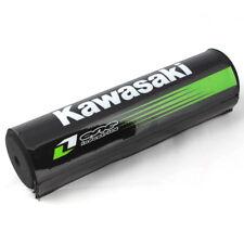 "7.9"" Black Kawasaki DIRT BIKE Motorcyle Motorcross Handlebar Cross Bar Pad OB"