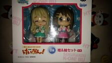 RARE K-on! Ichiban Kuji Kyun Chara World SP Prize B Yui & Tsumugi Figure Set