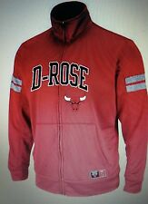 Majestic derrick rose chicago bulls opportunity to rise full zip track jacket M