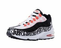 Nike Air Max 95 Print GS Kids Youth Running Shoes Black White AQ9711-001