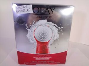 Olay Regenerist Facial Cleansing Brush, (1 Handle, 2 Brush Heads) MISSING B 12-O