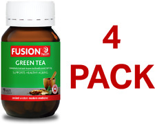 Fusion Health Green Tea 90 Tablets - 4 Pack
