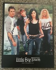 Little Big Town Signed Autographed 8x10 Promo Photo