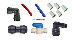 Water pipe 12mm John Guest Pushfit Pneumatic Fittings Campervan, Motorhome, Boat