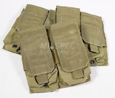 Eagle Industries M4 Double Rifle Magazine Pouch 2x2 Khaki Tan - Used, Grade C