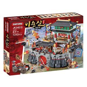 Oxford Admiral Yi Sun-Sin CASTLE Brick Mania Building Block Assembly Kit-1242pcs
