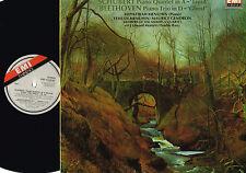 SCHUBERT Trout BEETHOVEN Ghost LP HEPHZIBAH MENUHIN EMI 1981 UK EMX41 2078 1 Exl